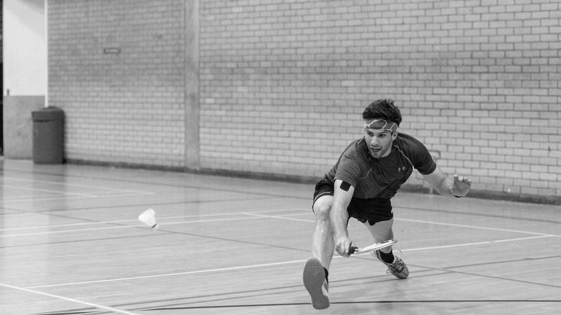 Badminton racketlon york yorkshire England UK Luke Barnes