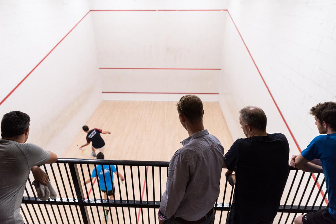 Squash racketlon york yorkshire England UK Luke Barnes Dan Busby