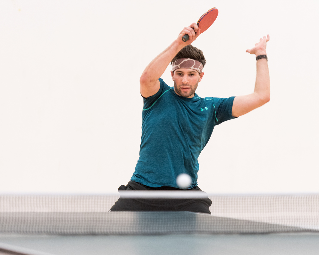 Table tennis racketlon ping pong york yorkshire England UK Luke Barnes