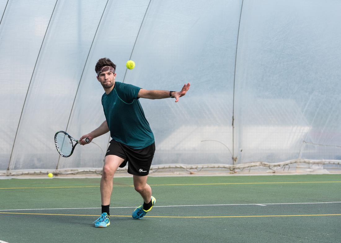 Tennis racketlon york yorkshire England UK Luke Barnes