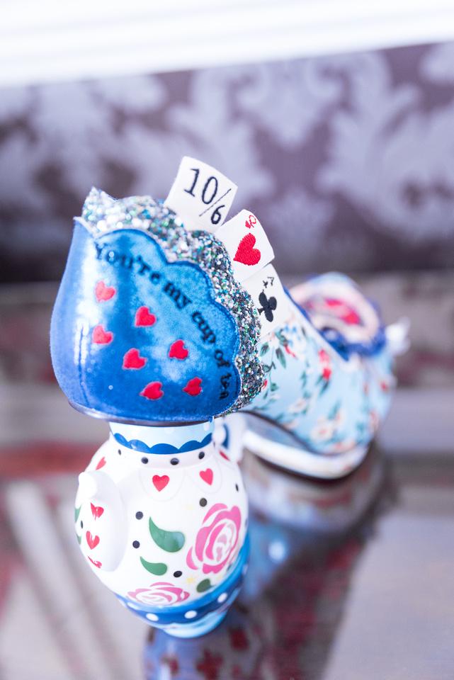 Yorkshire Wedding Alice in Wonderland Disney Shoes Teapots