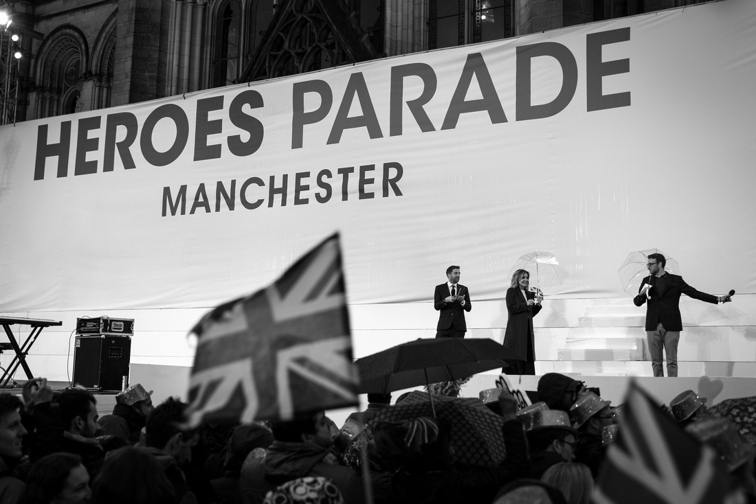 "Sport Olympics Heroes Parade Rio Manchester ""Team GB"""